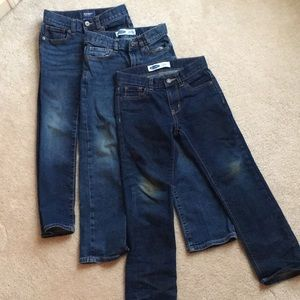 3 prs Old Navy Boys Jeans